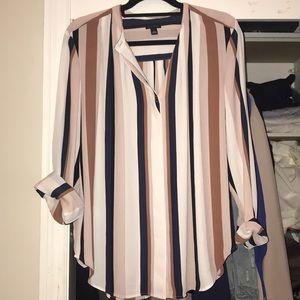 Ann Taylor Stripe Shirt 💗